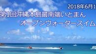 大会要項 名称 第1回 沖縄本島最南端オープンウォータースイ […]