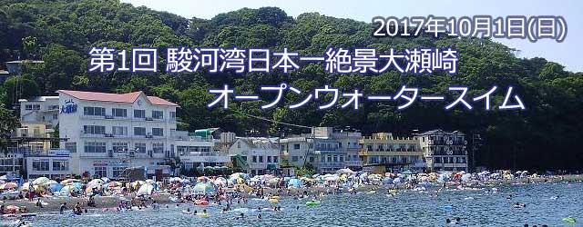 第1回 駿河湾日本一絶景大瀬崎オープンウォータースイム